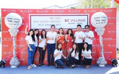 Grand opening & Pre sale SC Village ปลวกแดง – แม่น้ำคู้