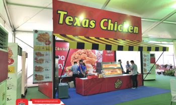 Booth : Texas Chicken